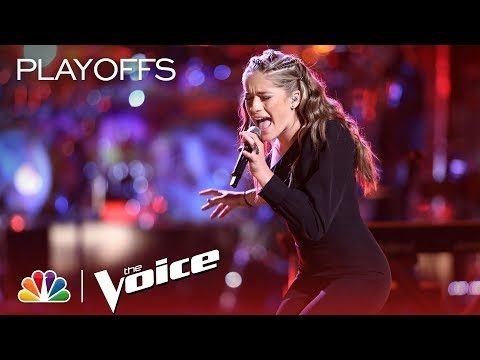 """The Voice 2018 Brynn Cartelli – Live Playoffs: """"Unstoppable"""""""