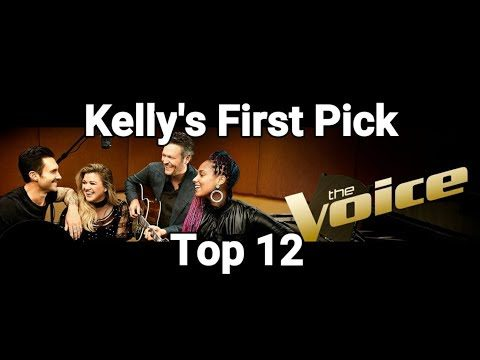 The Voice 2018 – Live Playoffs – Team Kelly's First Pick For Top 12 – Reaction